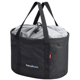 KlickFix Shopper Pro Bike Bag Laukku, black